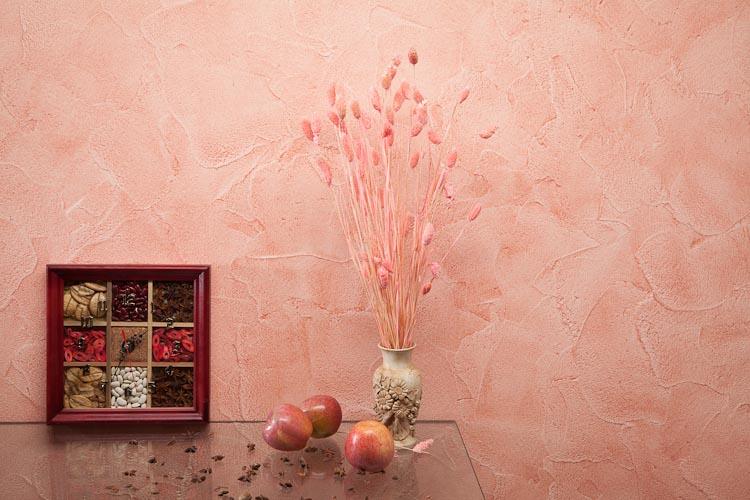 Декоративное покрытия стен своими руками 8